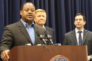 Backed by Aldermen Bob Fioretti and Scott Wagespack, Ald. Roderick Sawyer proposes giving the Inspector General's Office more power Thursday.