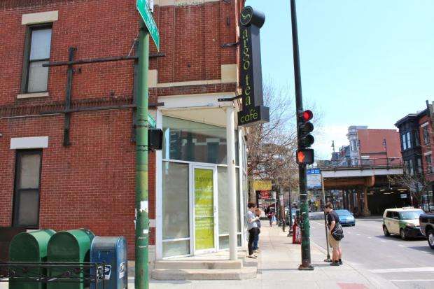 Argo Tea closed its original location at the corner of Sheffield and Armitage avenues after 10 years in business.