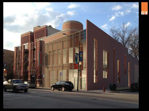 Ald. Michele Smith's office released photos of plans for the Walgreens store that proposed at 834 W. Armitage Ave.