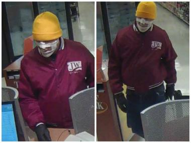 Surveillance photos from a TCF Bank branch in Jewel-Osco, 4250 N. Lincoln Ave.