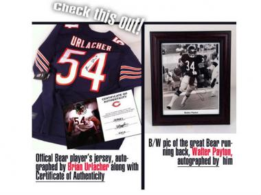 The anti-gay-marriage organization Ruth's Institute said autographed Bears memorabilia was donated in support of its message, according to blog Equality Matters.