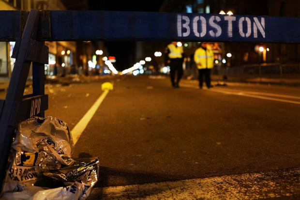 Explosions went off near the finish line of the Boston Marathon Monday afternoon.