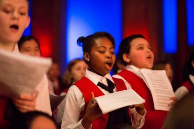 The Chicago Children's Choir puts on more than 100 concerts annually and in September plans to launch a new program aimed at youth living in Englewood on the South Side.