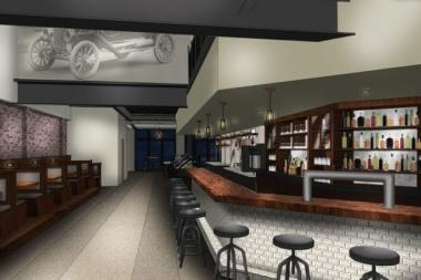 The interior of Chicago Chop Shop at 2033 W. North Ave. features a bar and restaurant. A proposed rooftop patio would be able to accommodate 68 patrons
