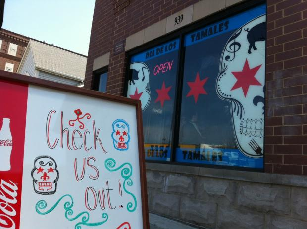 Dia De Los Tamales, 939 W. 18th St.,  was burglarized Monday for the second time in two weeks.