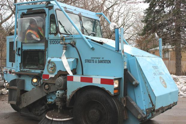 Street sweeping starts Friday.