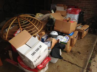 Items taken from one flooded basement in a Northwest Side home.