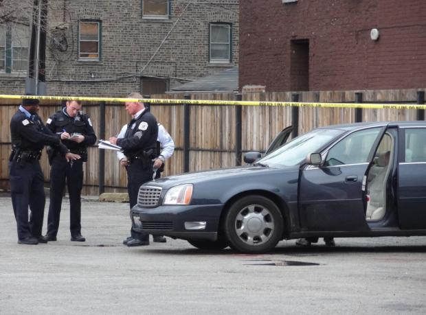 Three people were shot in Grand Crossing Thursday afternoon.