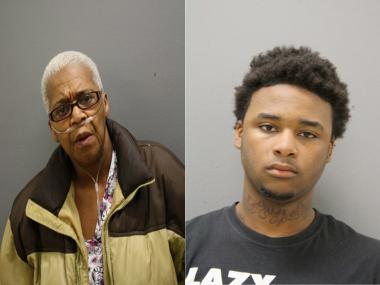 Janet Strickland, 62, and William Strickland, 19, are charged in the murder of William Strickland, 72.