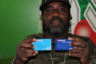 Nigel Williams, 42, a Jamaican immigrant from Englewood, has greatly increased his credit score thanks to a program at the Center for Working Families at Kennedy-King College.