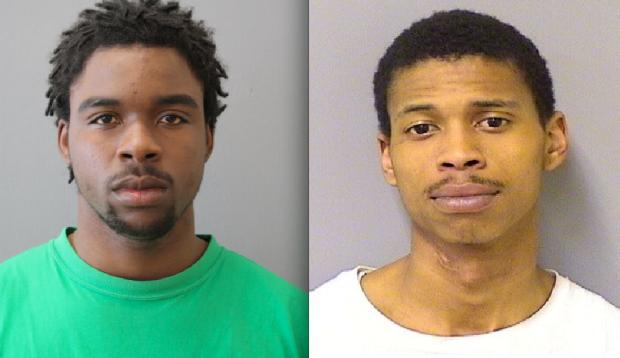 Carlos King, 24, and Micquel Jackson, 22, are charged with armed robbery. The victim in the case allegedly identified his attackers after spotting one of them at Ameristar Casino and recognizing the other in a photo array at another casino, prosecutors said.