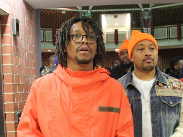 Project Orange Tree kicked off Monday with a rally featuring rapper Lupe Fiasco.