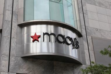 A Texas woman claims she suffered serious injuries when a Macy's shoe rack at Water Tower Place fell on her head, according to a lawsuit file in Cook County Circuit Court.