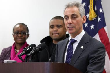 Mayor Rahm Emanuel talks about Chicago public schools and the future of community colleges. (April 4, 2013)