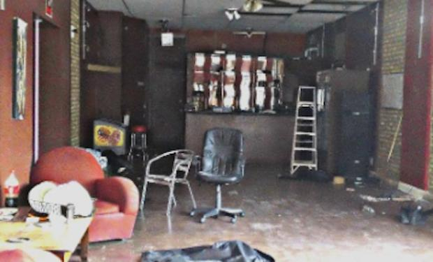 City officials closed the former Luxury Cafe on March 15, but illegal parties continued until last week.