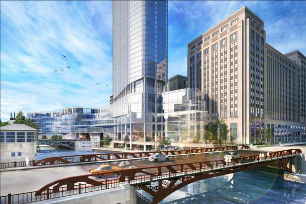 Bill Davies' plan for redeveloping the former Chicago Main Post Office was approved by the City Council July 24, 2013.