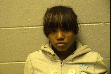 Rickea Williams, 17, of the 6600 block of South Campbell Avenue, is accused of hitting a cop in the face with a McDonald's smoothie.