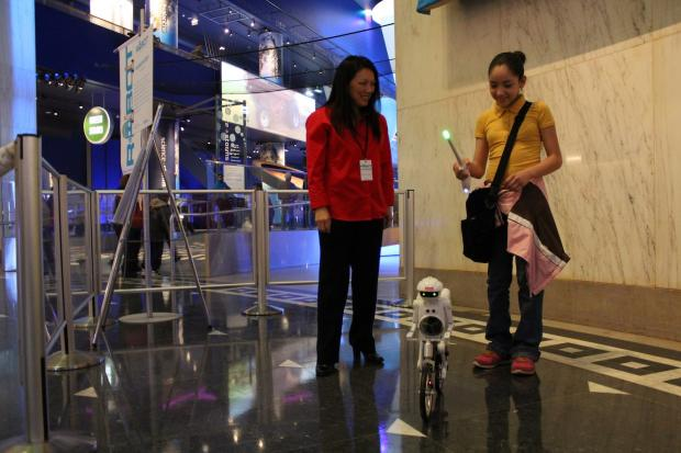 More than 20 robots are on display at the Museum of Science and Industry for Robotics Week.