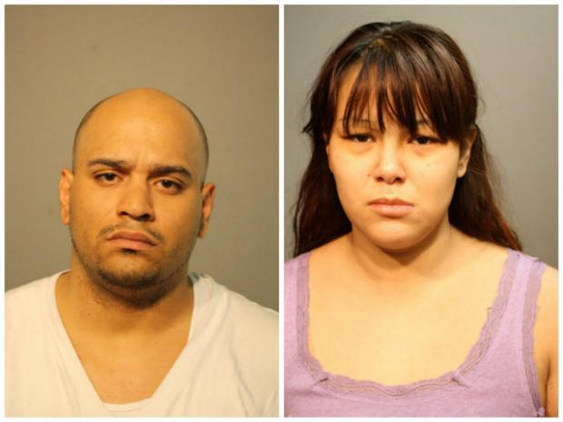 Rigoberto Rodriguez and Angela Petrov were upgraded after 5-month-old Angelina Rodriguez died Monday.