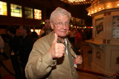 "Roger Ebert's ""thumbs-up"" endorsement signal was coveted by moviemakers."