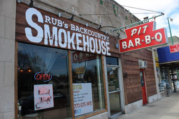 When Rub's Backcountry Smokehouse and BBQ Supply Co. reopens in a few weeks, it will be with some of the highest quality meat in Chicago, its owner says.