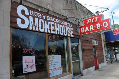 Rub's Backcountry Smokehouse on Western Avenue was shut down Thursday for reported health-code violations.