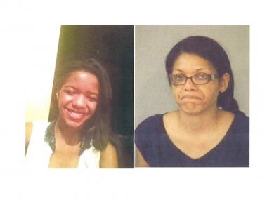 An Amber Alert was issued for Sommer Brown-Ivy, 12, left, who is believed to be with Lisa Elizabeth Brown, right.