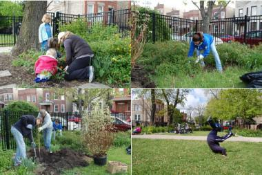 Unity Park Earth Day Clean-up