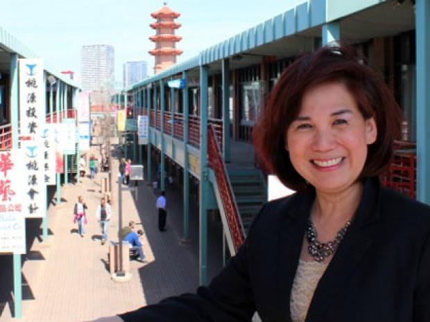 "New Chinatown Chamber of Commerce director Yin Kean is hoping to ""rebrand"" the business group for broader appeal."