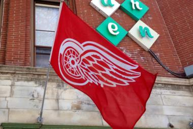 The Avenue Tavern in Lakeview is a Red Wings-friendly establishment. The bar is owned by Mark Camilleri, a Detroit native and Michigan State graduate.