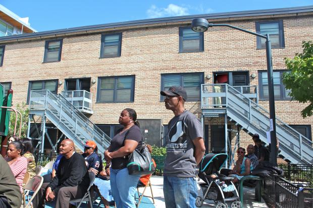 The Cabrini-Green Local Advisory Council filed a federal lawsuit aginast the Chicago Housing Authoirity Thursday morning to force the CHA to honor its promise to keep public housing at the site.