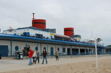 This weekend's Walking Across Chicago trek might end at North Avenue Beach.
