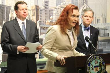 "Backed by Ald. Joe Moore and Ald. James Cappleman, ESPN sportswriter Christina Kahrl says the importance of the City Council's resolution backing LGBT athletes ""cannot be understated."""