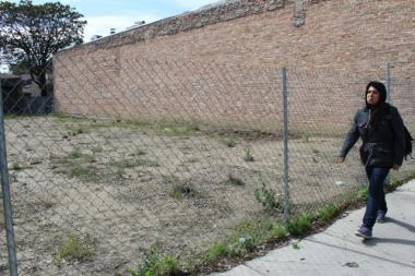 "Residents are aiming to turn a vacant lot in the 3400 block of South Halsted Street into a ""beautification"" project."