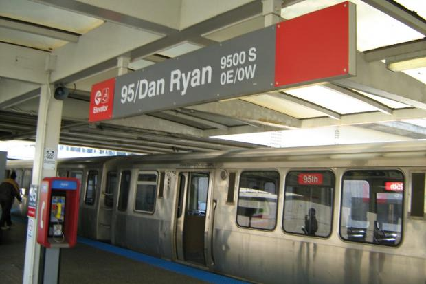 Robbers are holding people up at gunpoint on or near the Red Line, police said.
