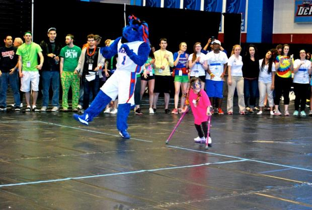 DePaul's 2nd annual Dance Marathon event raised more than $150,000 for the Lurie Children's Hospital over the weekend.