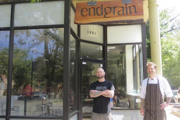 Endgrain in Roscoe Village is the first restaurant from brothers Enoch and Caleb Simpson.