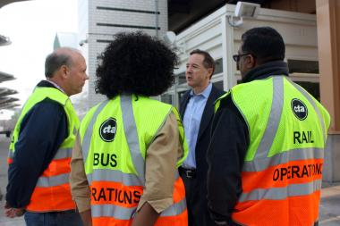 CTA President Forrest Claypool has reached a union agreement to extend an apprentice program for ex-offenders.