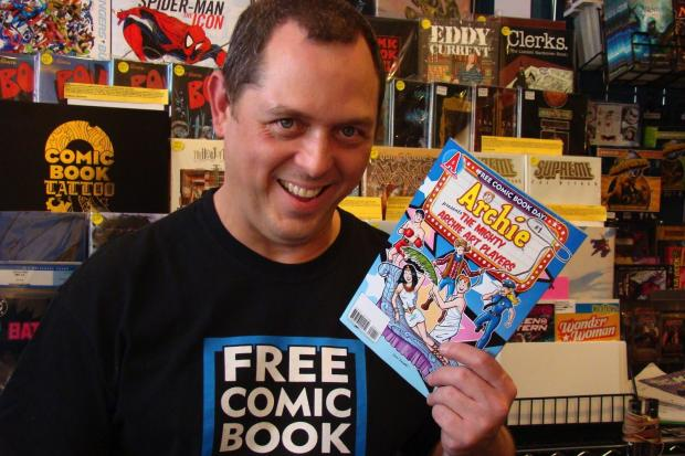 Saturday, May 4, is Free Comic Book Day.