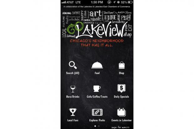 Two Lakeview chambers of commerce launched a mobile app to help visitors and residents explore the neighborhood.