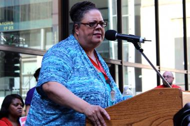 During last year's protests over school closings, Chicago Teachers Union President Karen Lewis threatened to register 250,000 voters before the next election. Now the union is forming an independent political organization.