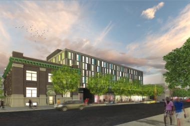 The new LGBT senior housing facility will be located at the corner of Halsted and Addison.