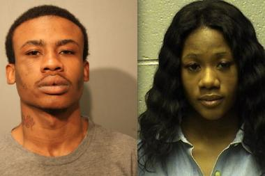 Markus Stewart and Korie Taylor are charged with armed robbery in an alleged hair extension heist.