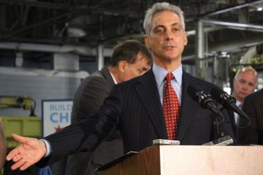 "Mayor Rahm Emanuel said of school closings: ""If it was easy politically, it would've been done"" before."