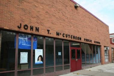 John McCutcheon School, 4865 N. Sheridan Road.