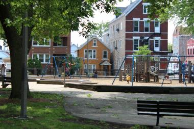 Residents say the aging playground at McGuane Park has needed replacement.