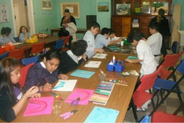 McPherson Elementary School's art studio is sure to be a stop on tours for prospective students and their parents.
