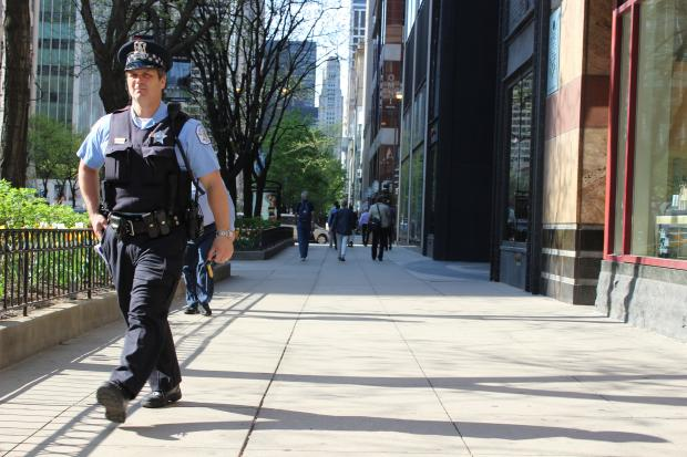 Police say the holdup of a 68-year-old woman on North Michigan Avenue never happened.