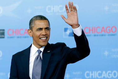 President Barack Obama played host to the NATO summit at McCormick Place two years ago.