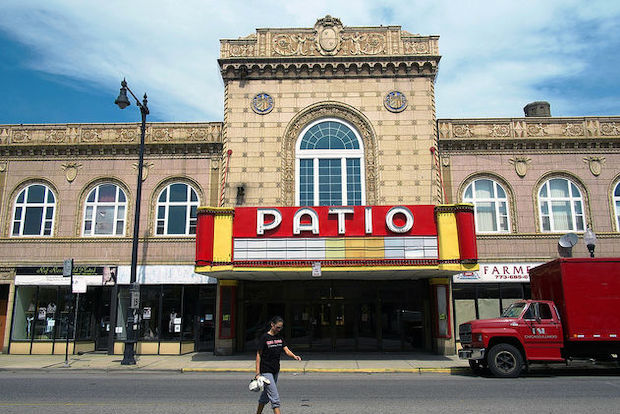 The film society moved to the Patio Theater in May after it was locked out of the Portage Theater.